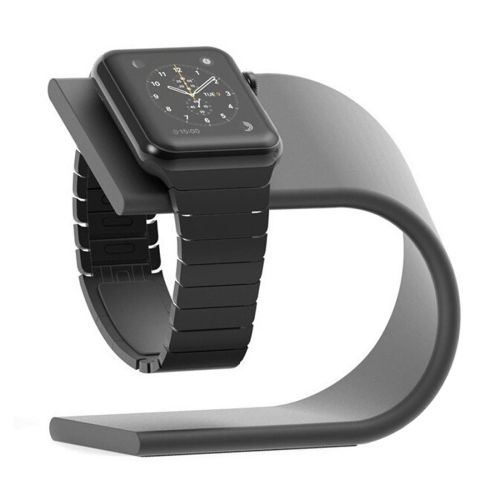 Für Apple Watch 42 mm Ständer Ladestation Aluminium