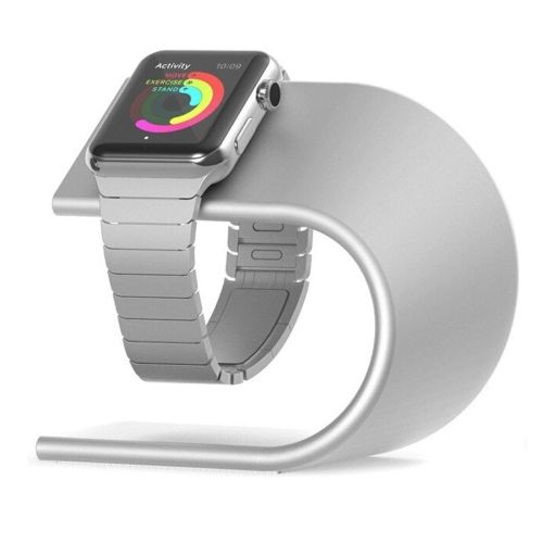 Für Apple Watch 38 mm Ständer Ladestation Aluminium