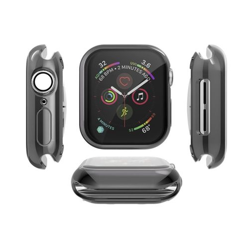 Für Apple Watch Series 4  TPU GEL Hülle mit Displayschutz